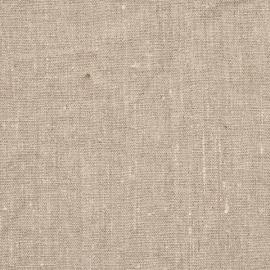 Campione di tessuto di lino naturale Terra