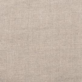 Tessuto Lino Natural Prelavato Rustico