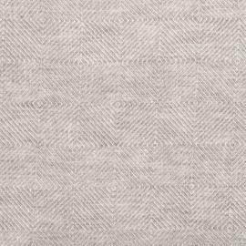 Tessuto Lino Natural Prelavato Stone Washed Rhomb