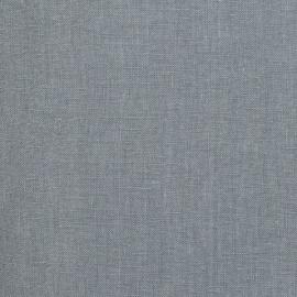 Tessuto Di Lino Lavato Schiacciato Ardesia Blu