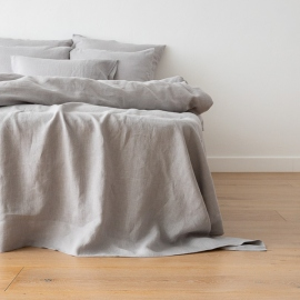 Cool Grey Set di Biancheria da Letto Crushed