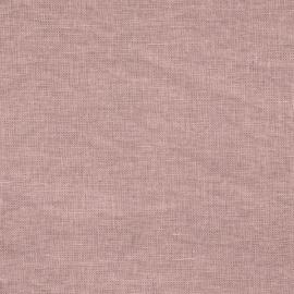 Campione Di Tessuto Di Lino Rosa Polveroso Schiacciato