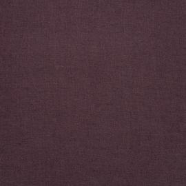 Aubergine Tessuto di lino Upholstery