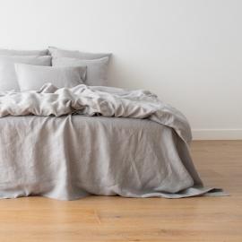Cool Grey Set di Biancheria da Letto Crushed