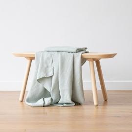Asciugamano da Bagno in Lino Sea Foam Washed Waffle